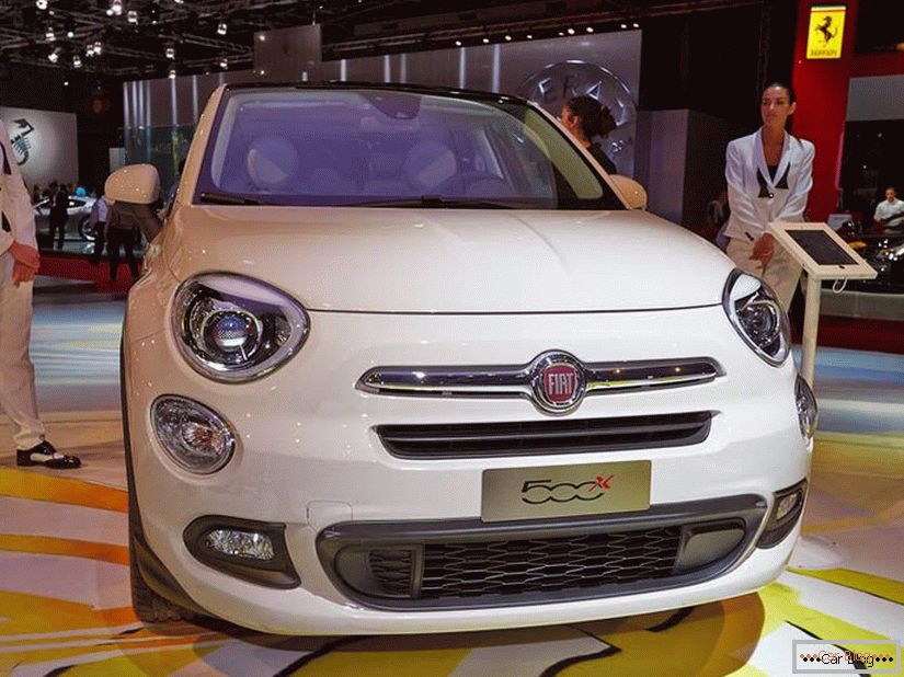 Fiat 500x Crossover