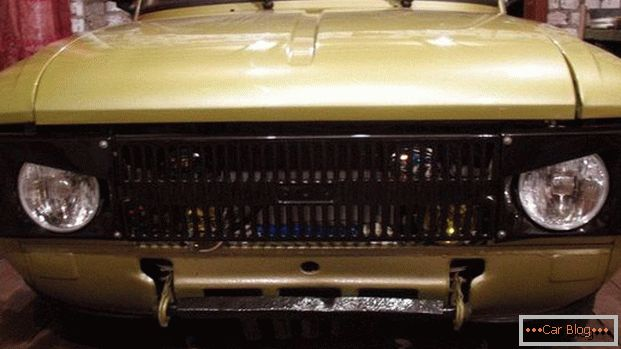 Tuning Moskvich 412 Das Alte Auto Cool Machen